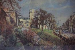 "James McIntosh Patrick (Scottish 1907-1998) ""Dundee University"" Signed Limited Edition Print, signed"