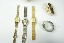 Quantity of Ladies Quartz Wristwatches, to include examples by Accurist, Rushmore, Quartz etc, (18)