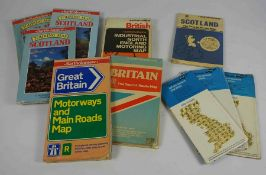 Large Quantity of Bartholomew Road Maps, Approximately 300 in total