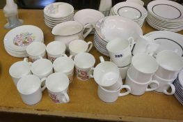 """Quantity of China Tea and Dinner Wares, To include a Wedgwood """"Charisma"""" Part Tea Set etc,"""