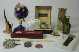 Mixed Lot of Collectables, To include a Seiko Quartz Analogue Wristwatch, With Box and Booklet, Faux