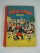 The Magic - Beano Book, circa 1948-49, Printed by D.C. Thomson & Co Ltd, The obverse shows Biffo