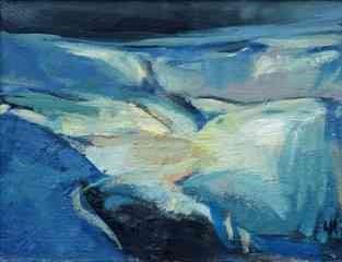 "Lida Hatrick (Czech/Scottish, B.1950) ""Lammermoor"", oil on board, initials to lower right, 30cm x"