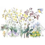 "Margaret Walty (British, B.1952) ""Awakening Garden"", acrylic on board, initials and dated 2019 to"