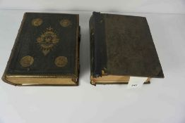 Browns Self Interpreting Family Bible, circa 19th century, Also with Cassell,s Illustrated Family