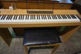 Roland E30e Digital Piano, 76cm high, 137cm wide, 29cm deep, With stool, (2)