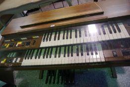 Clinkscale Electric Keyboard, 89cm high, 113cm wide, 54cm deep