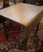 Gordon Russell, Mahogany Drop Leaf Table, Stamped to the underside Russell GR with Crown motif,