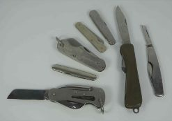 Warris of Sheffield, Military Issue Pocket Knife, Marked 1953, With Broad Arrow, Having text Oil the