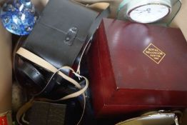 Large Quantity of Sundries, To include China, Glass, Typewriter, Mirrors, Pictures, Rug, Silver