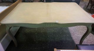 Contemporary Painted Dining Table, 77cm high, 165cm wide, 101cm deep