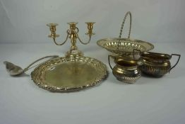 A.C. Pailthorp of Great Grimsby, Silver Plated Tray, circa late 19th / early 20th century, No