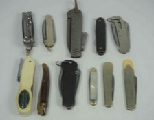 Currey Ltd of Chichester England, Clasp Knife, Also with Humphreys of Sheffield Clasp Knife,