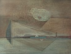 "Robert T. H. Smith (Scottish B 1938) ""In Ballast"" Oil on Board, 39cm x 49cmCondition reportMinor"