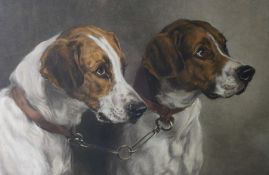 """After Heywood Hardy (British 1842-1933) """"In Reserve"""" and """"The Pick of The Pack"""" Originally"""
