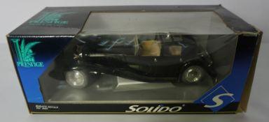 """Solido """"Bugatti Royale"""" Model Car, Ref 8001, 25cm wide, Boxed,"""