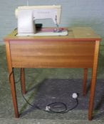 Singer Table Sewing Machine, 79cm high, 48cm wide
