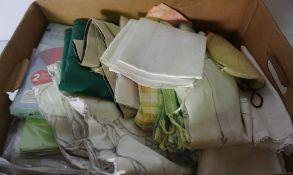 Box of Assorted Linen