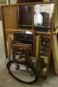 Seven Assorted Wall Mirrors, (7)