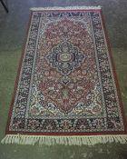 Indian Rug, 143cm x 79cm