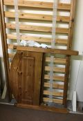 Pine Single Bed, 192cm long