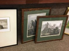 Six Assorted Prints, To include a Print of Jedburgh Abbey, (6)