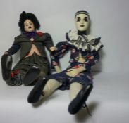 """Scott & Gill Harris for Hobo Designs Ltd, Limited Edition Figure of """"Barney"""" The Clown, No 45 of"""