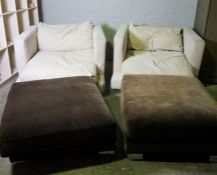 Modern Three Piece Lounge Suite, Comprising of a Large three Seater Sofa, With a pair of Matching