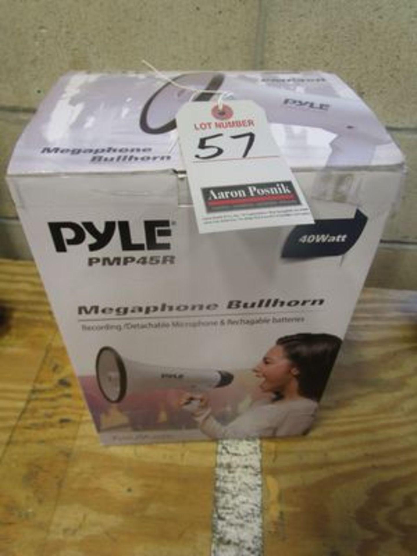 Lot 57 - PYLE PMP45R MEGAPHONE BULL HORN