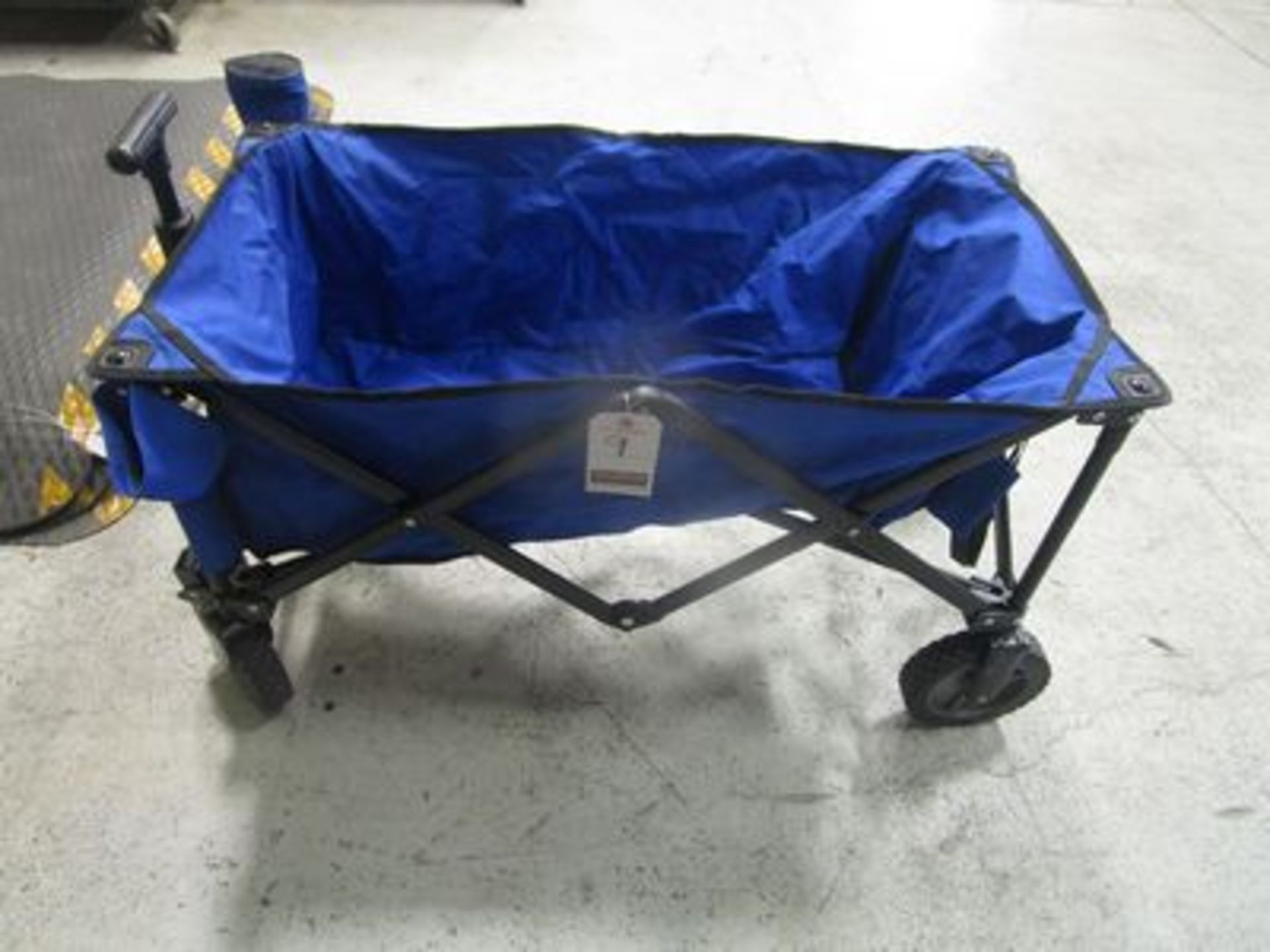"Lot 9 - 30"" PORT. CANVAS UTILITY CART"