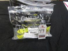 GUARDIAN FALL PROTECTION 4' DOUBLE LEG SHOCK ABSORBING LANYARD W/ SNAP HOOKS