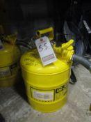 JUSTRITE 5 GAL. DIESEL GAS SAFETY CAN