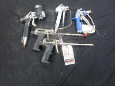 ASS'T PNEU. SPRAY GUNS
