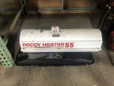 REDDY HEATER 55 KEROSENE HEATER, 55,000 BTU'S