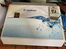 DIAMOND OXY PURE OXYGEN FACIAL MACHINE, 110V, 4-AMP, S/N DOP-2011-018-RD