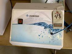 DIAMOND OXY PURE OXYGEN FACIAL MACHINE, 110V, 4-AMP, S/N DOP-2011-025-RD