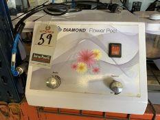 DIAMOND MICRODERMABRASION MACHINE, S/N DFP-2010-008