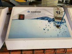 DIAMOND OXY PURE OXYGEN FACIAL MACHINE, 110V, 4-AMP, S/N DOP-2012-015-RD