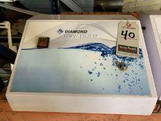DIAMOND OXY PURE OXYGEN FACIAL MACHINE, 110V, 4-AMP, S/N DOP-2011-024RD