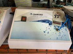 DIAMOND OXY PURE OXYGEN FACIAL MACHINE, 110V, 4-AMP, S/N DOP-2013-20-RD