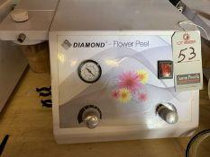 DIAMOND MICRODERMABRASION MACHINE W/ GAUGE, S/N DFP-2010-001