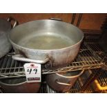 "16"" DIA. X 5"" DEEP ROASTING PAN"