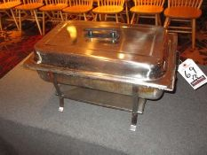 "20"" S.S. CHAFING DISH W/ LID"