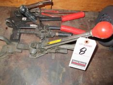 ASS'T CLAMPING & CRIMPING TOOLS