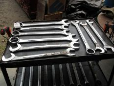 ASS'T H.D. OPEN END & BOX WRENCHES