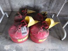 MET. GAS CANS