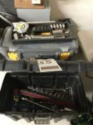 ASS'T POLY MECHANIC'S TOOLBOXES W/ TOOLS