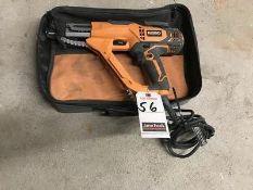 "RIDGID ELEC. 1""-3"" COLLATED SCREW GUN, M/N R6791, W/ CASE"