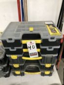 ASS'T POLY TOOL ORGANIZERS W/ CONTENTS
