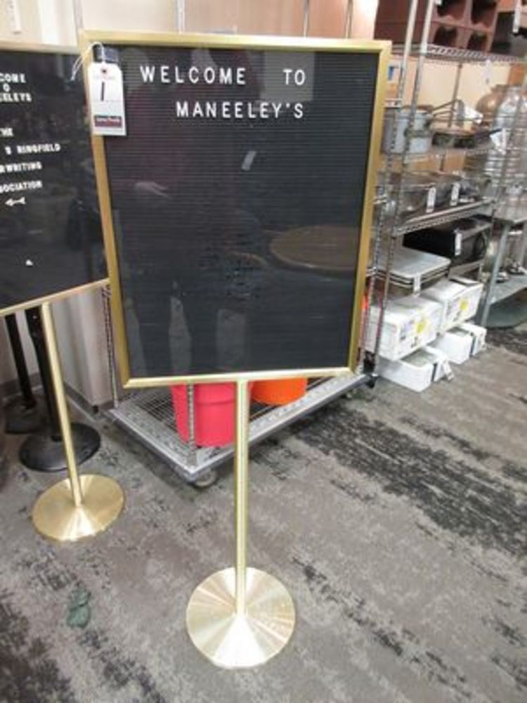 LATE TYPE-LIKE NEW BANQUET FACILITY • MANEELEY'S